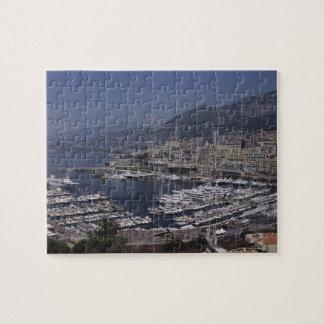 港、モンテカルロ、リビエラのCoteのd 3 ジグソーパズル