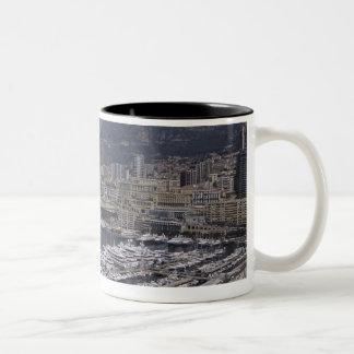 港、モンテカルロ、リビエラのCoteのd 3 ツートーンマグカップ