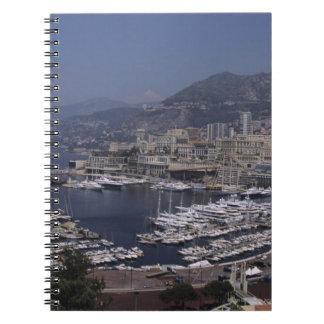港、モンテカルロ、リビエラのCoteのd 3 ノートブック