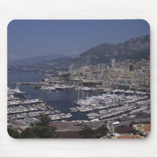 港、モンテカルロ、リビエラのCoteのd 3 マウスパッド