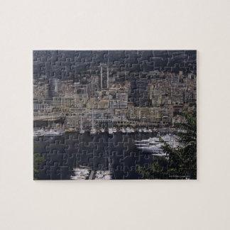 港、モンテカルロ、リビエラのCoteのd 4 ジグソーパズル