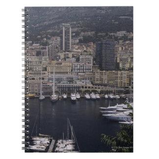 港、モンテカルロ、リビエラのCoteのd 4 ノートブック