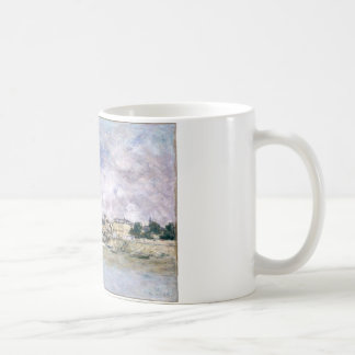 港、Eugene Boudin著Trouville コーヒーマグカップ