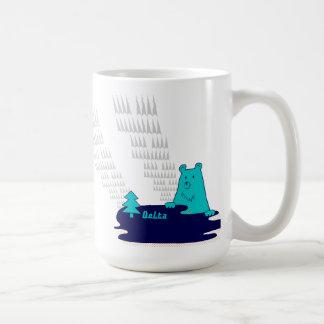 湖と森の主くまさんのderのバーのvom Wald2 コーヒーマグカップ