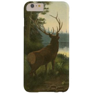 湖に見ているオオシカの背部眺め BARELY THERE iPhone 6 PLUS ケース
