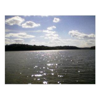湖のさざ波 ポストカード