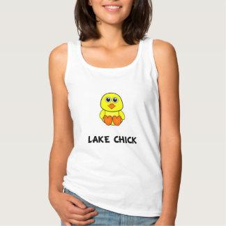 湖のひよこ タンクトップ
