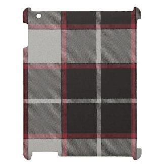 湖のアナの格子縞のタータンチェック iPadケース