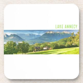 湖のアヌシーのコースター コースター