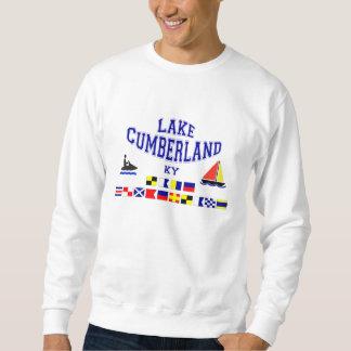 湖のカンバーランドKYのSIGの旗 スウェットシャツ