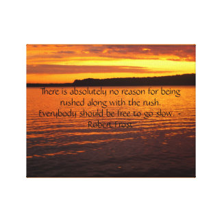 湖のキャンバスの写真の日没 キャンバスプリント