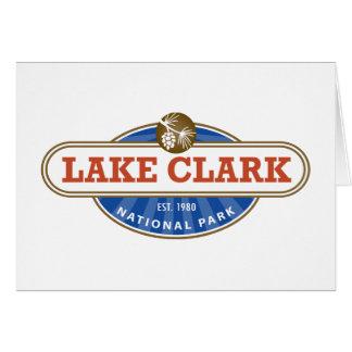 湖のクラーク国立公園 カード