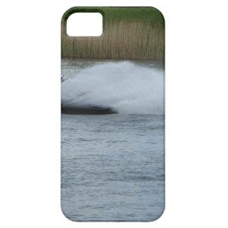 湖のジェット機のスキーヤー iPhone SE/5/5s ケース