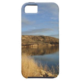 湖のスコットの州立公園カンザス iPhone SE/5/5s ケース