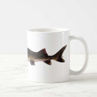 湖のチョウザメ- Acipenserのfulvescens コーヒーマグカップ