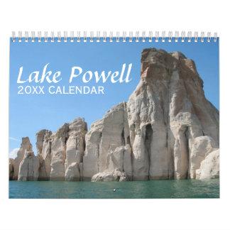 湖のパウエル旅行写真撮影 カレンダー