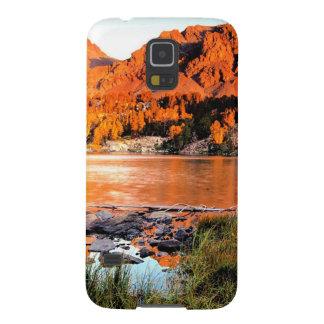 湖のヴァージニアシエラネバダ山脈 GALAXY S5 ケース