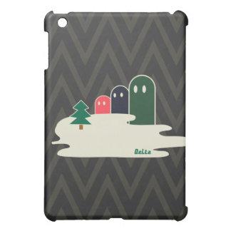 湖の不思議な生き物Delta01typeBのかっこいいのiPadのケース iPad Miniケース