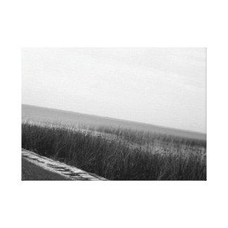 湖の前部平静2 キャンバスプリント