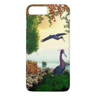 湖の前部自然場面 iPhone 8 PLUS/7 PLUSケース