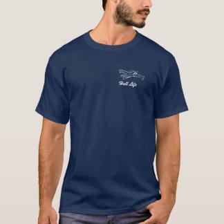 湖の反逆する水上飛行機 Tシャツ