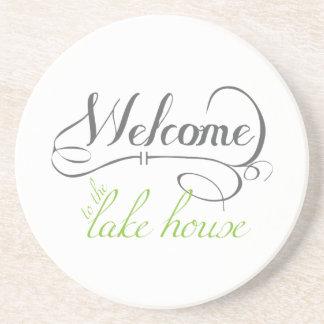 湖の家への歓迎 コースター