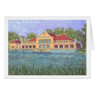 湖の家 カード