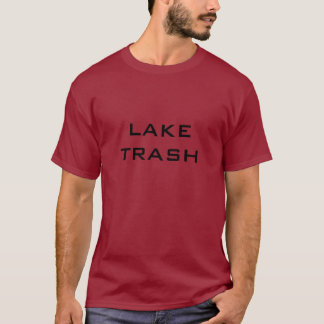 湖の屑 Tシャツ