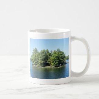 湖の島 コーヒーマグカップ