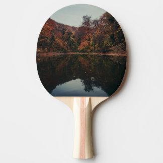 湖の景色の卓球ラケット 卓球ラケット