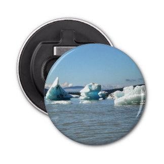 湖の栓抜きの氷 栓抜き