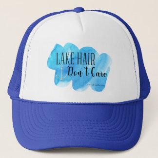 湖の毛は気になりません キャップ