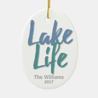 湖の生命 セラミックオーナメント
