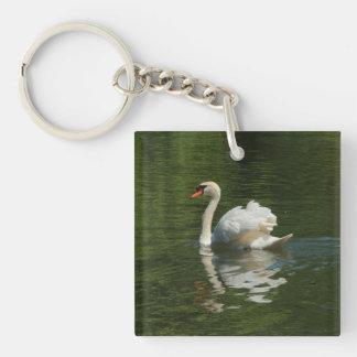 湖の白鳥 キーホルダー