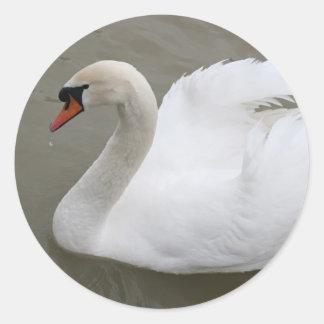 湖の白鳥 ラウンドシール