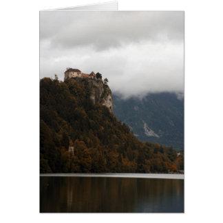 湖の眺め カード