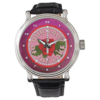 湖の私達の女性 腕時計