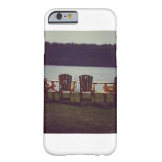 湖の電話箱による椅子 BARELY THERE iPhone 6 ケース