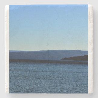 湖の青 ストーンコースター