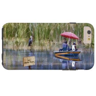 湖の2人の漁師 TOUGH iPhone 6 PLUS ケース