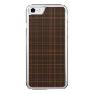 湖のAchaidh naのh-Inichの格子縞 Carved iPhone 8/7 ケース