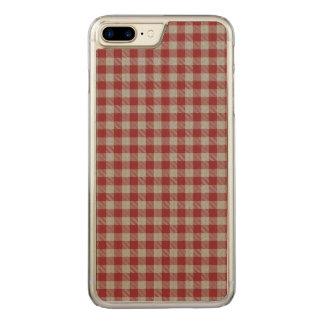 湖のAchallの格子縞 Carved iPhone 8 Plus/7 Plus ケース