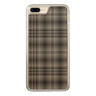 湖のAchiltyの格子縞 Carved iPhone 8 Plus/7 Plus ケース
