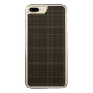 湖のAchrayの格子縞 Carved iPhone 8 Plus/7 Plus ケース
