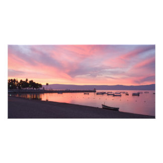 湖のChapalaの日の出 カード