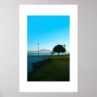 湖のChapalaの青 ポスター