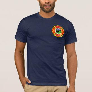 湖のCushmanの火の義務のワイシャツ Tシャツ