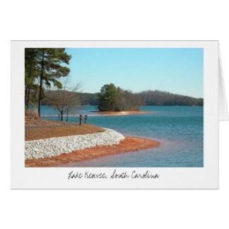 湖のKeoweeの歩くの道(タイトル) カード