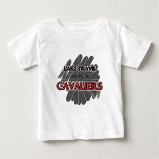 湖のTravisの高等学校の騎士-オースティン、TX ベビーTシャツ