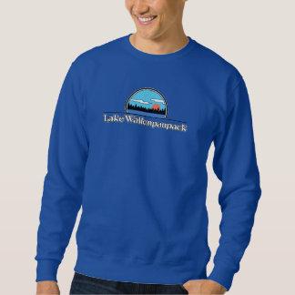湖のWallenpaupackのレトロのキャンプのスエットシャツ スウェットシャツ
